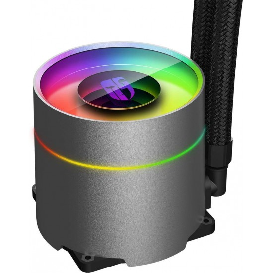 DEEPCOOL Castle 240 EX, Addressable RGB AIO Liquid CPU Cooler, Anti-Leak Technology Inside, Cable Controller and 5V ADD RGB 3-Pin Motherboard Control, TR4/AM4 Supported