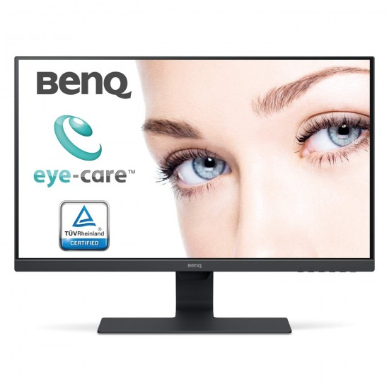 BenQ 27 inch (68.6 cm) Edge to Edge Slim Bezel LED Backlit Computer Monitor - Full HD,60 Hz , 5 ms IPS Panel with VGA, HDMI, Display, Audio in Ports and in-Built Speakers - GW2780 (Black)