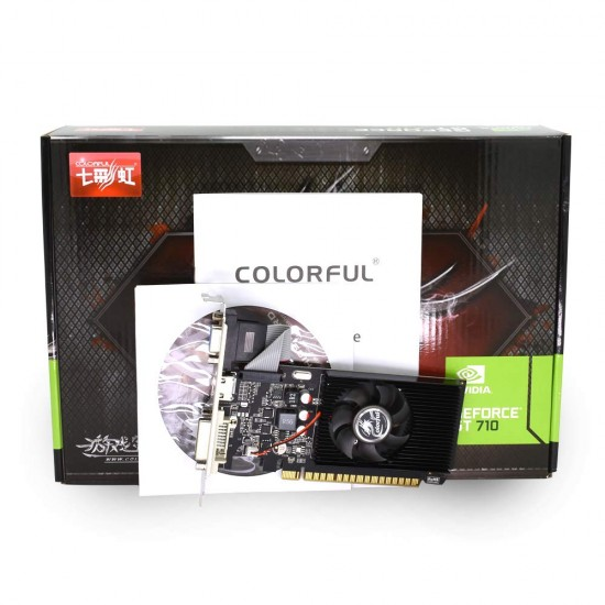 COLORFUL GEFORCE GT 710 2GB DDR3 GRAPHICS CARD