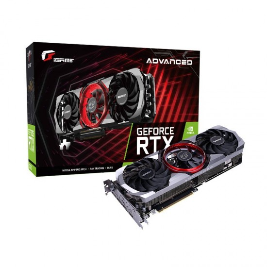 COLORFUL IGAME GEFORCE RTX 3070 ADVANCED OC 8GB GDDR6 GRAPHICS CARD